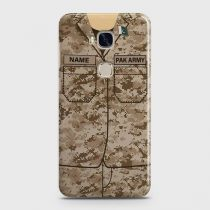 HUAWEI HONOR 5X ARMY SHIRT WITH CUSTOM NAME CASE