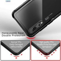 HUAWEI HYBRID GLASS BACK SHOCK PROOF CASE