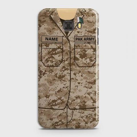 SAMSUNG GALAXY C9 PRO ARMY SHIRT WITH CUSTOM NAME CASE