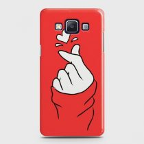 SAMSUNG GALAXY E5 LOVE HEART SIGN CASE