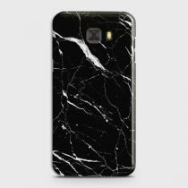 SAMSUNG GALAXY C9 PRO TRENDY BLACK MARBLE DESIGN CASE