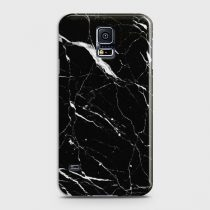 SAMSUNG GALAXY S5 TRENDY BLACK MARBLE DESIGN CASE