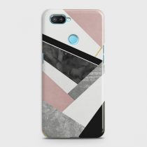 OPPO REALME 2 GEOMETRIC LUXE MARBLE CASE