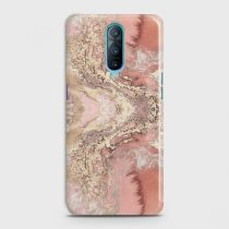 OPPO R17 PRO TRENDY CHIC ROSE GOLD MARBLE CASE