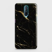 OPPO R17 PRO CLASSIC GOLDEN BLACK MARBLE CASE