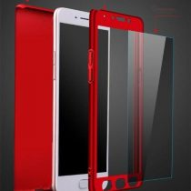 FULL PROTECTIVE FRONT+BACK+FREE GLASS 360 DEGREE CASE VIVO ALL MODELS