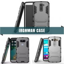 HYBRID TPU+PC IRON MAN ARMOR SHIELD CASE FOR LG ALL MODELS