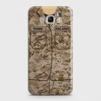 SAMSUNG GALAXY J5 2016 ARMY SHIRT WITH CUSTOM NAME CASE