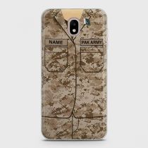 SAMSUNG GALAXY J7 PRO ARMY SHIRT WITH CUSTOM NAME CASE