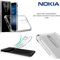 NOKIA 100% TRANSPARENT ANTI-KNOCK AIR DROP SHOCK PROOF CASE