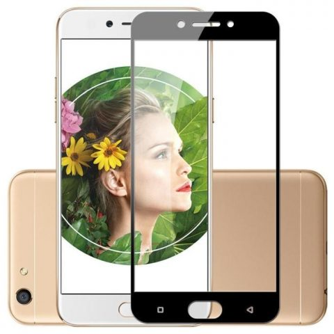 OPPO FULL COVERED EDGE TO EDGE 3D TEMPERED GLASS PROTECTOR