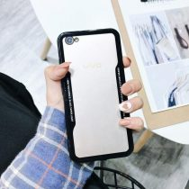 VIVO HYBRID GLASS BACK SHOCK PROOF CASE