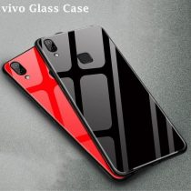 VIVO PREMIUM BRANDED TEMPERED GLASS BACK CASE