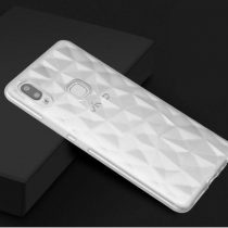 VIVO V9 3D DIAMOND SERIES HYBRID TRANSPARENT CASE.