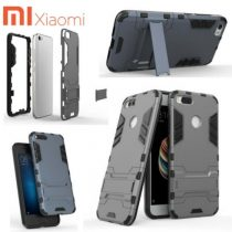 XIAOMI MI HYBRID TPU+PC IRON MAN CASE & COVER WITH KICKSTAND XIAOMI MI