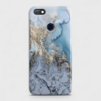 INFINIX NOTE 5 (X604) GOLDEN BLUE MARBLE CASE