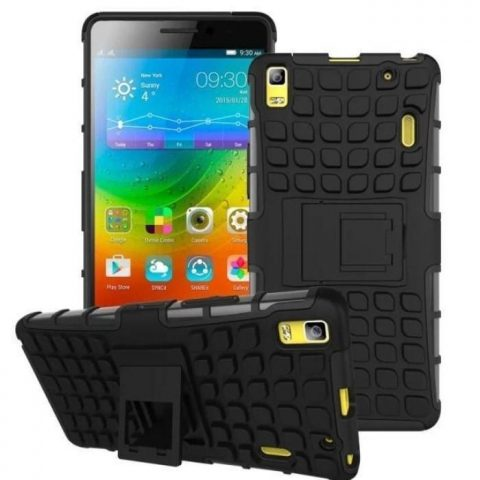 DUAL HEAVY DUTY ARMOUR SHIELD CASE FOR LENOVO K3 NOTE LENOVO K5/K5PLUS