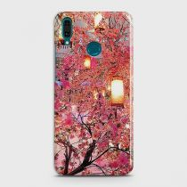 HUAWEI Y9 (2018) PINK BLOSSOMS LANTERNS CASE
