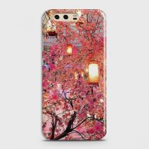 HUAWEI P10 PLUS PINK BLOSSOMS LANTERNS CASE
