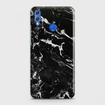 HUAWEI P SMART 2019 BLACK LIQUID MARBLE CASE