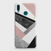 HUAWEI Y7 PRIME (2019) GEOMETRIC LUXE MARBLE CASE