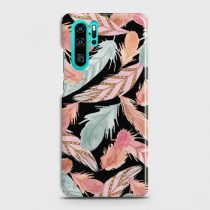 HUAWEI P30 PRO COLORFUL FEATHER LEAVES CASE