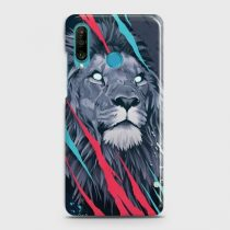 HUAWEI P30 LITE ABSTRACT ANIMATED LION CASE