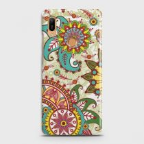 HUAWEI Y6 (2019) SEAMLESS PAISLEY FLOWERS CASE