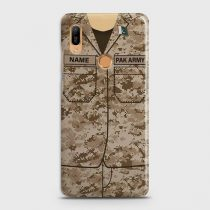 HUAWEI Y6 PRIME 2019 ARMY COSTUME WITH CUSTOM NAME CASE