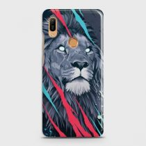 HUAWEI Y6 PRIME 2019 ABSTRACT ANIMATED LION CASE