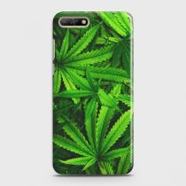 HUAWEI Y6 PRIME (2018) GREEN LEAVES PHONE CASE