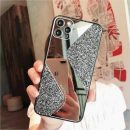 Fashion Glitter Mirror Glass Case For all iPhone Models